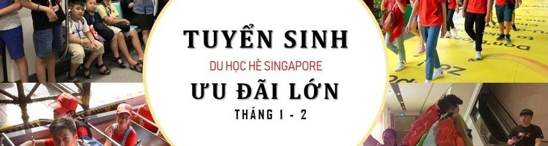 Tuyển sinh học hè Singapore