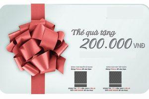 Thẻ quà tặng mua sắm theo thương hiệu yêu thích là món quà cưới tuyệt vời