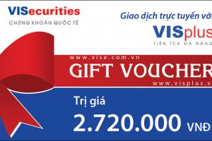 thẻ voucher quà tặng khách hàng