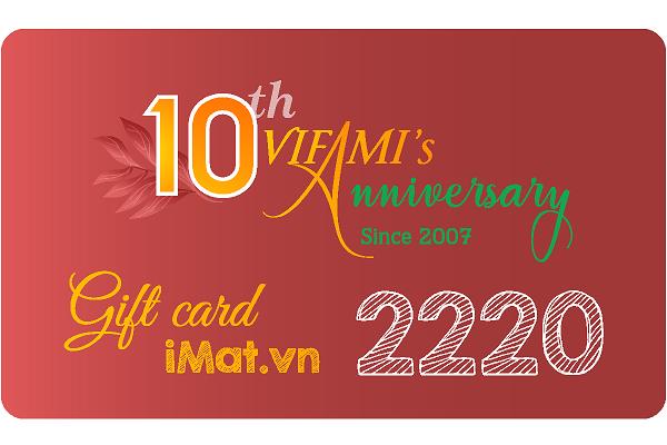 thẻ quà tặng mua hàng