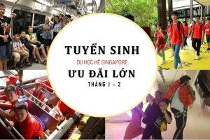 Tuyển sinh du học Tết và mùa hè tại Singapore