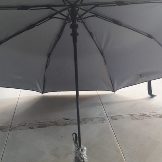 Foldable light-weight umbrellas