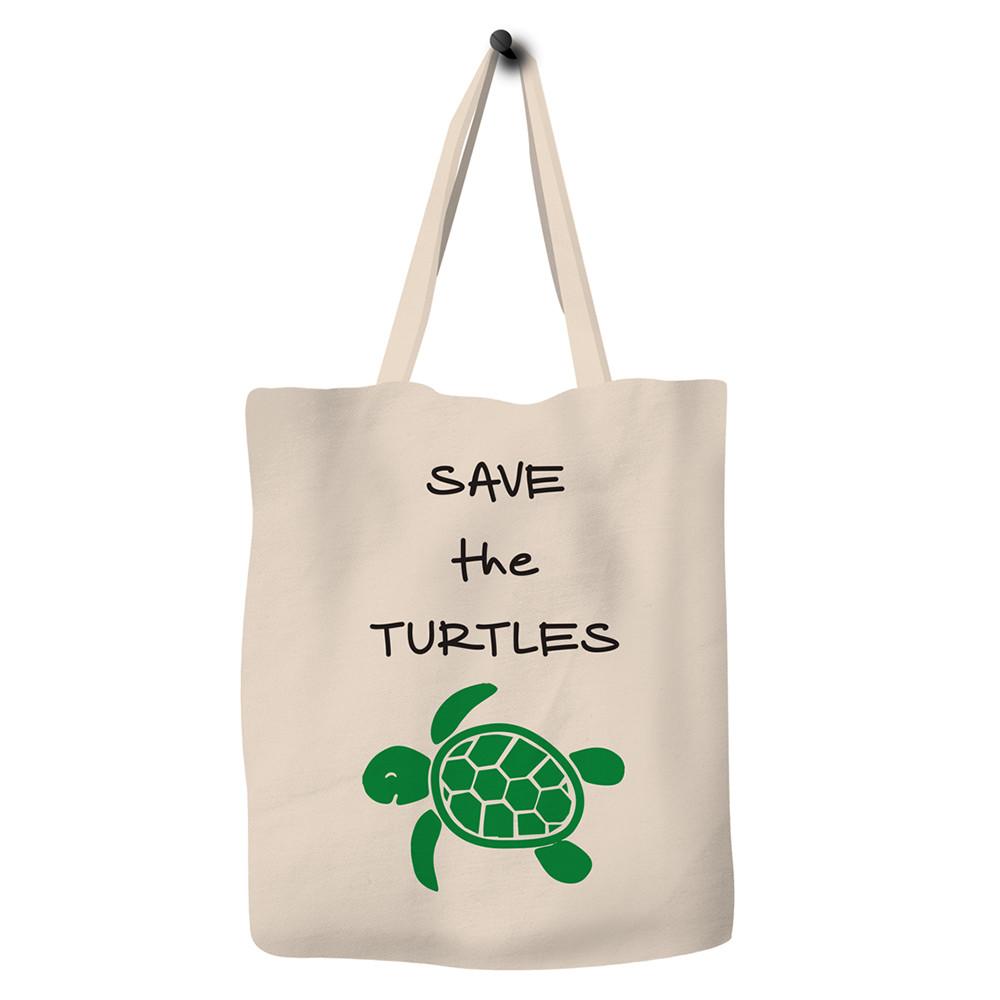 Save the turtles. Tote Bag