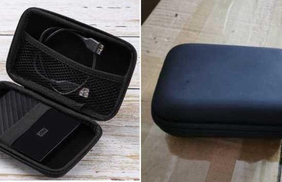 Charging mini suitcase